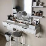Floating Makeup Vanity Shelf Saubhaya Makeup