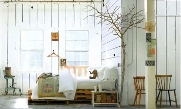 Rcup Palettes 34 Chambres Coucher La Tte De Lit Palette