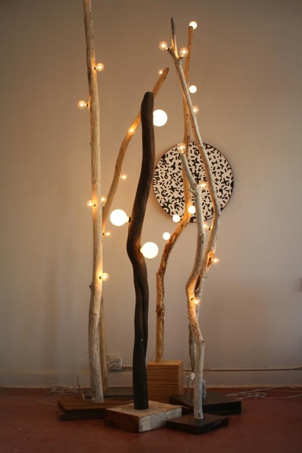 Comment Faire Une Lampe En Bois Flott