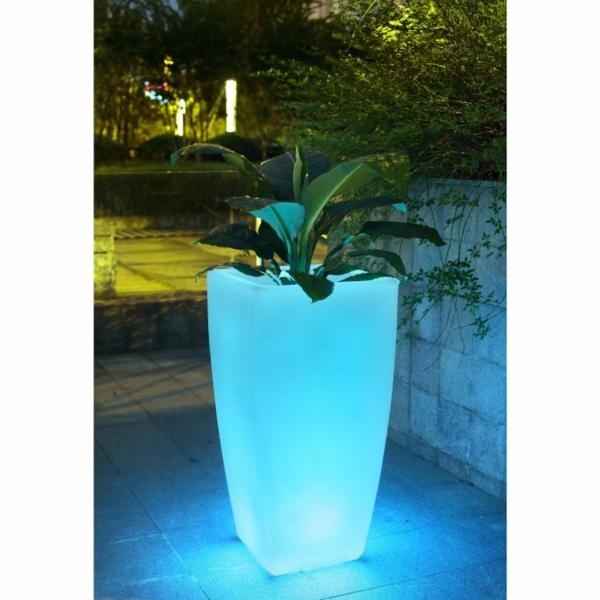 Le Cache Pot Lumineux Pour Le Jardin Modern Archzine Fr
