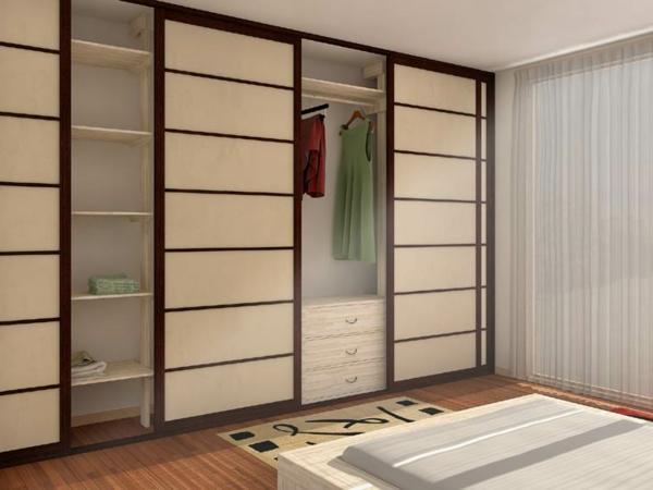 armoire porte coulissante japonaise