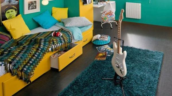 le tapis de chambre ado style et