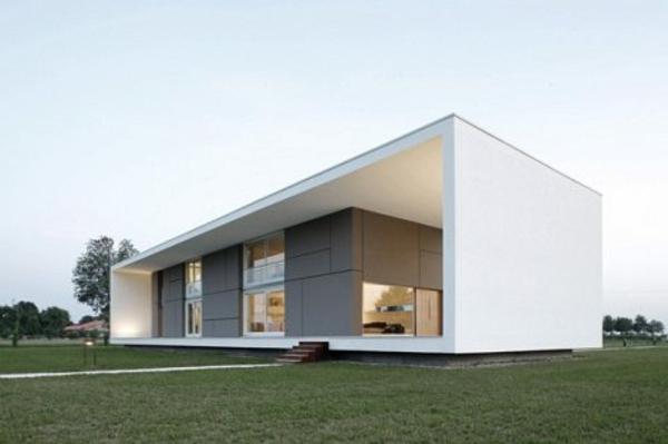 L Architecture Minimaliste Dextrieur En Cube