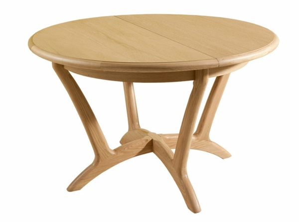 Table Ronde Bois Qui SAgrandit