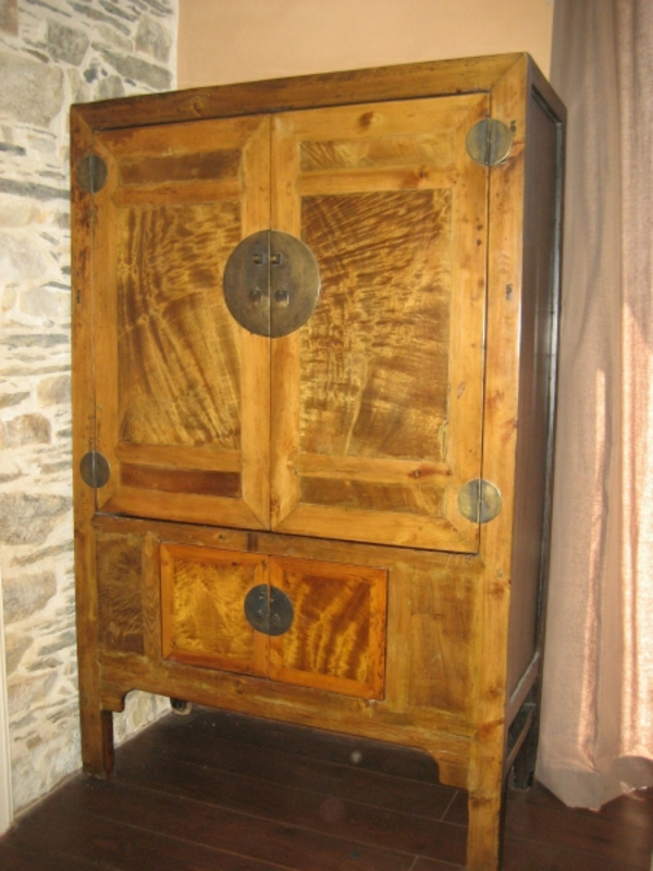 Armoire De Mariage Chinoise Ancienne