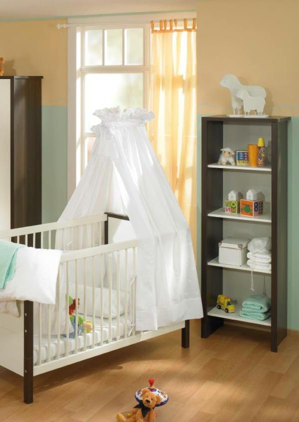 le ciel de lit bebe protege le bebe en