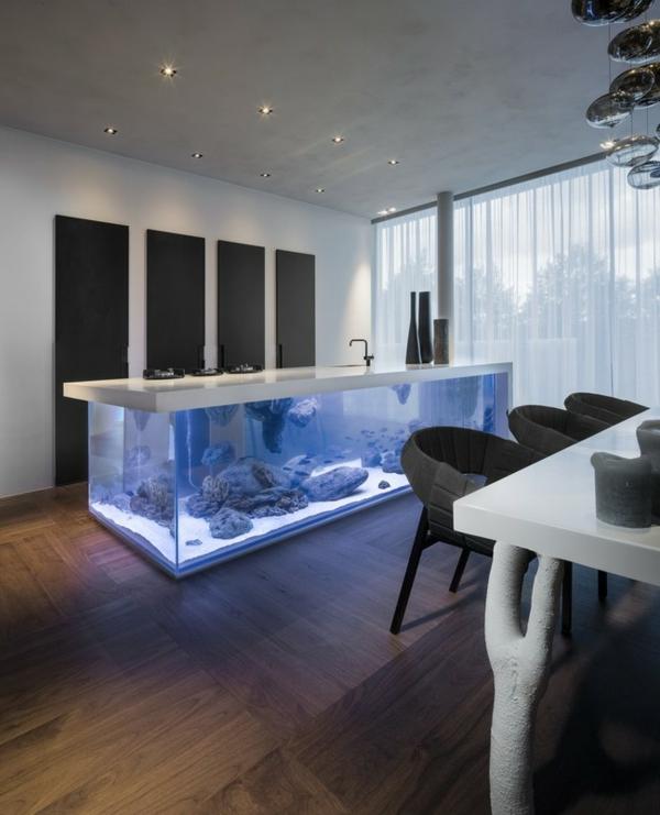 La Dcoration Avec Un Meuble Aquarium Archzinefr