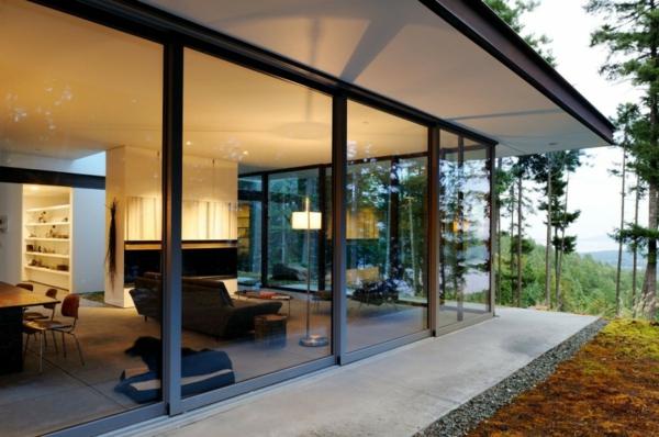 La Baie Vitre Coulissante Pour Un Design Spectaculaire