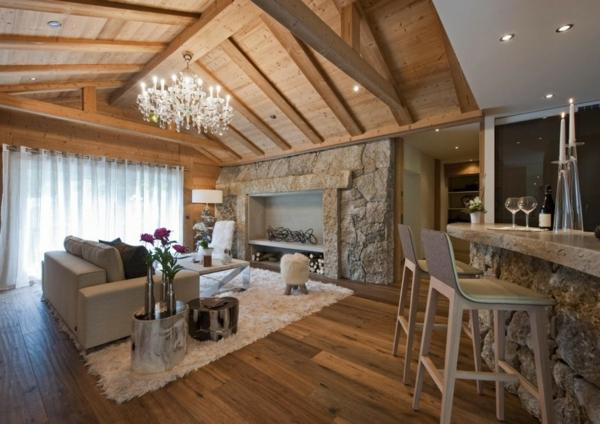 Le Confort Et La Beaut Du Chalet Suisse En Photos