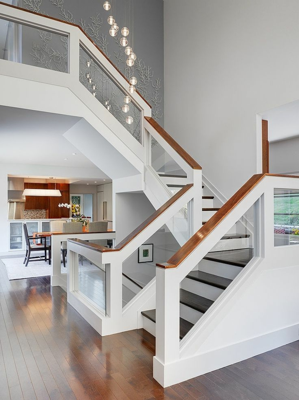 Designs Descaliers Avec Garde Corps En Verre