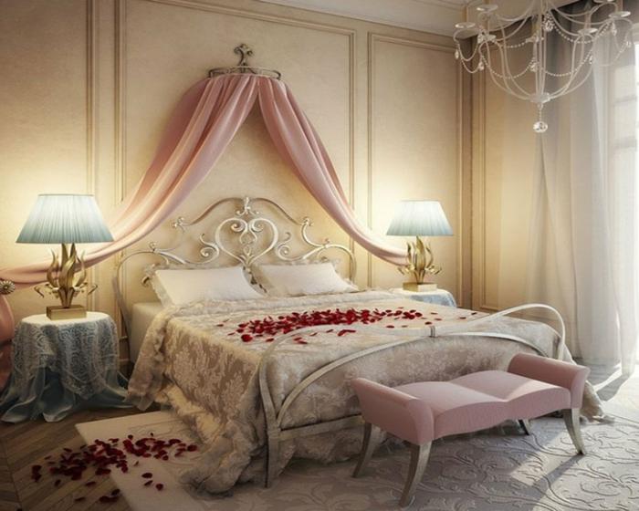la deco chambre romantique 65 idees
