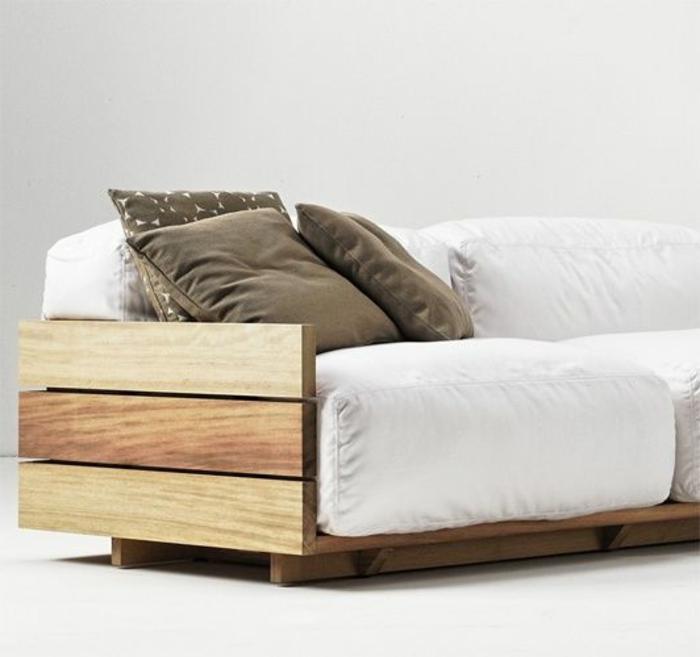 Comment cr er des meubles avec des palettes en bois for Fabriquer un canape en palette de bois
