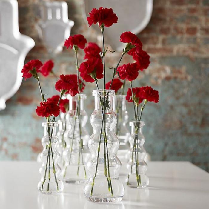 le vase en verre un joli detail de la
