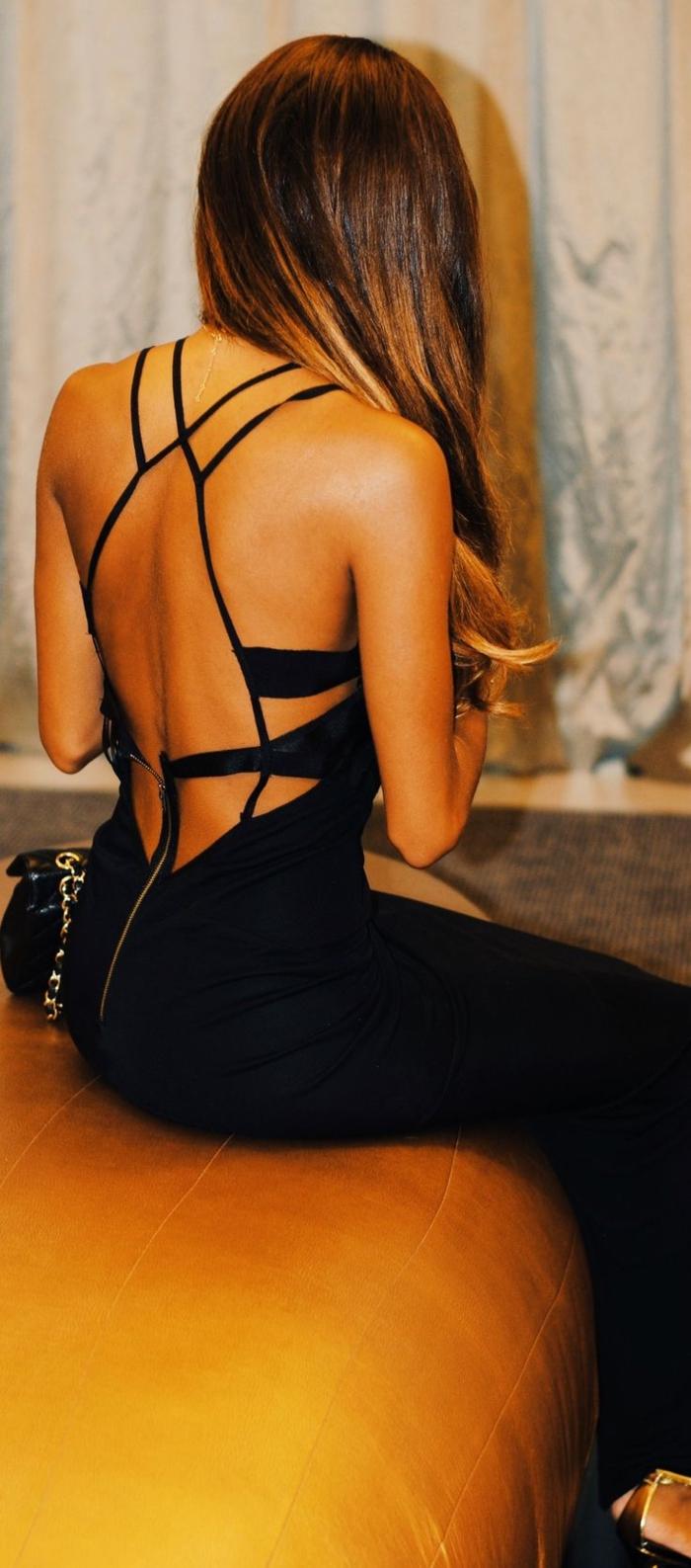 s-habiller-avec-style-class-tenue-de-soirée-robe-longue-dos-nue-noire-comment-adopter-tenue-chic-femme