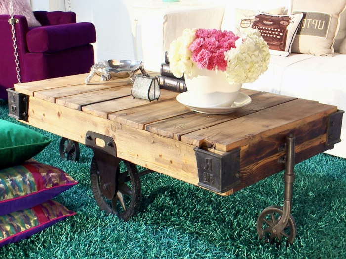 beautiful plusieurs designs pour la table de salon en palette with palette table