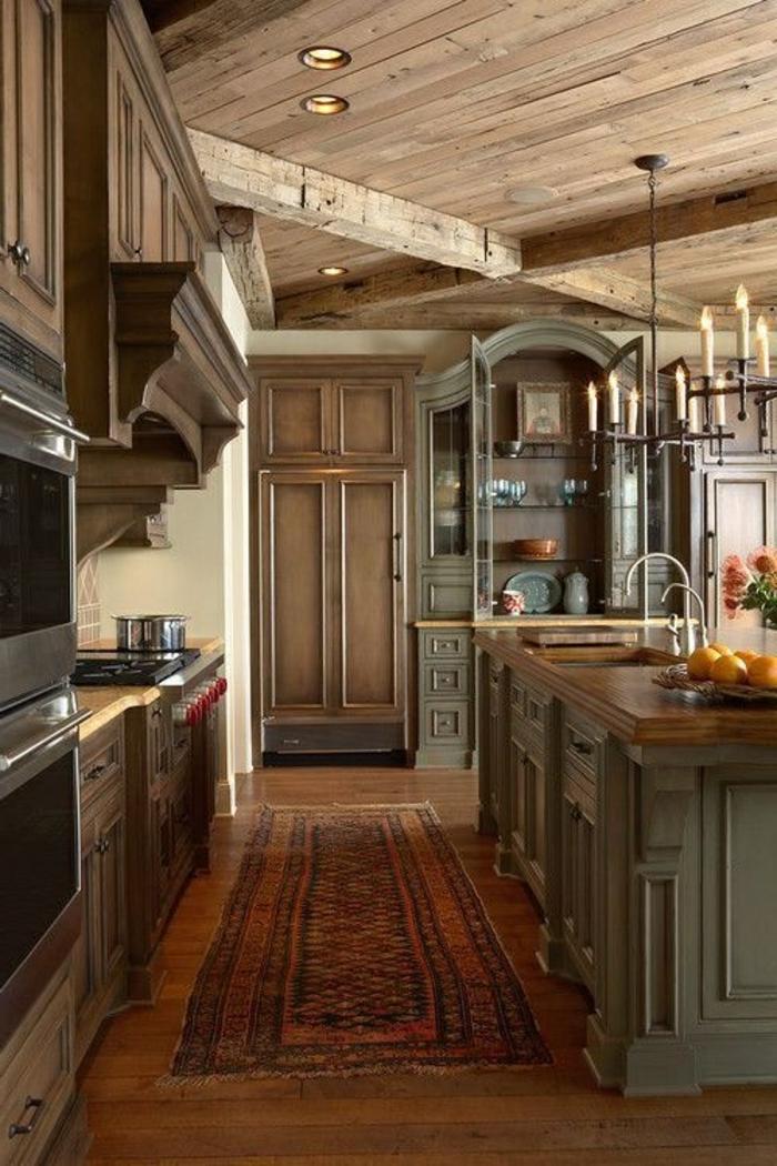 La Cuisine Style Campagne Dcors Chaleureux Vintage