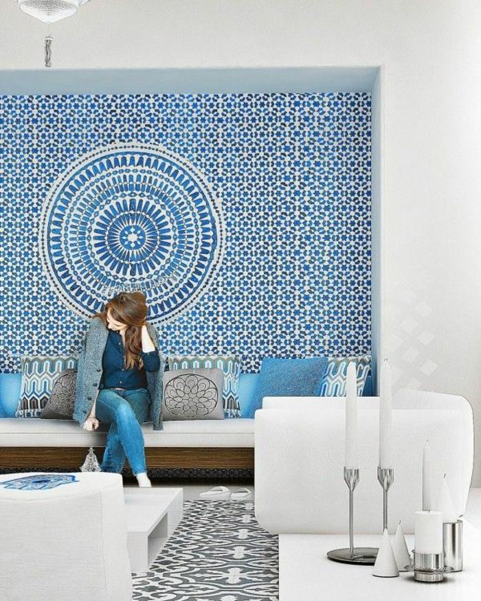 carrelage adhesif mural castorama