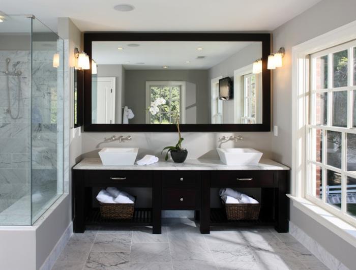 Meuble Double Vasque 50 Idees Amenagement Salle De Bain Archzine Fr