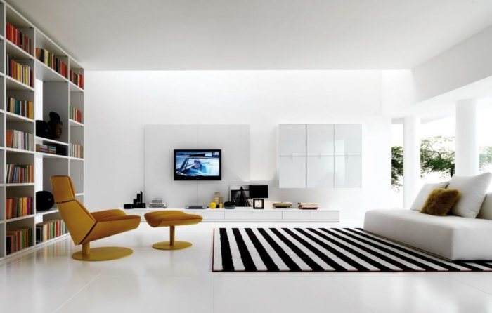 tapis de salon moderne 42 idees qui