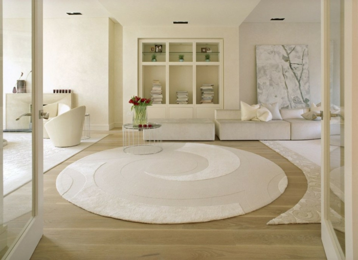 grand tapis salon moderne enredada