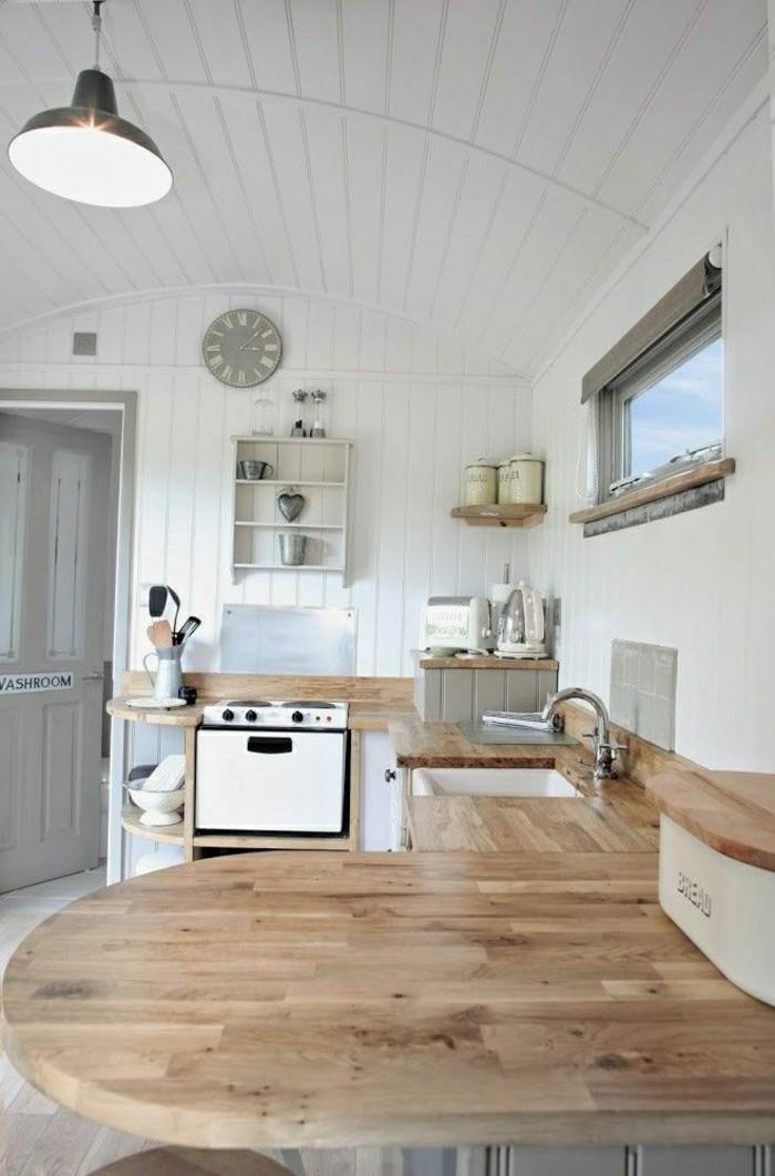 la cuisine arrondie dans 41 photos