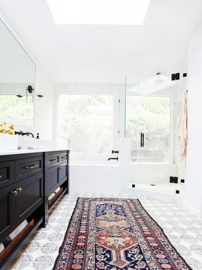 tapis de salle de bain original