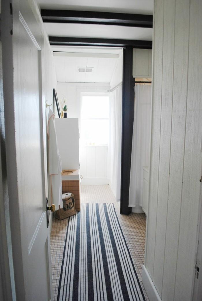 cool idees pour le tapis de salle de bain original