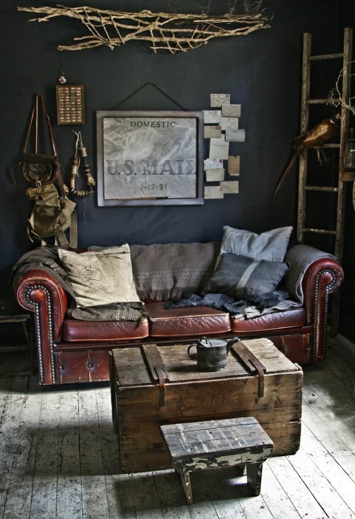 vintage pour votre salon moderne