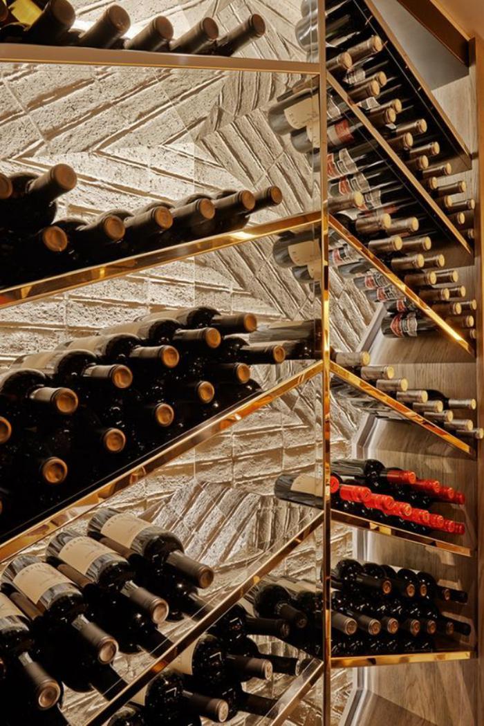 fabriquer rangement bouteille de vin