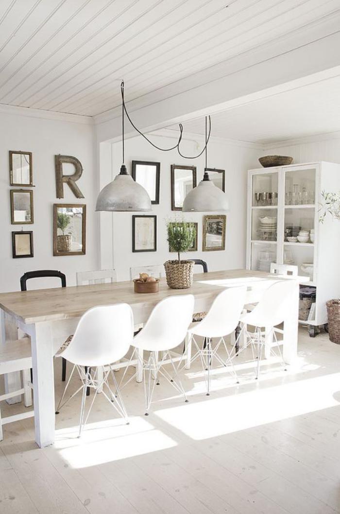 la cuisine blanche et bois en 102