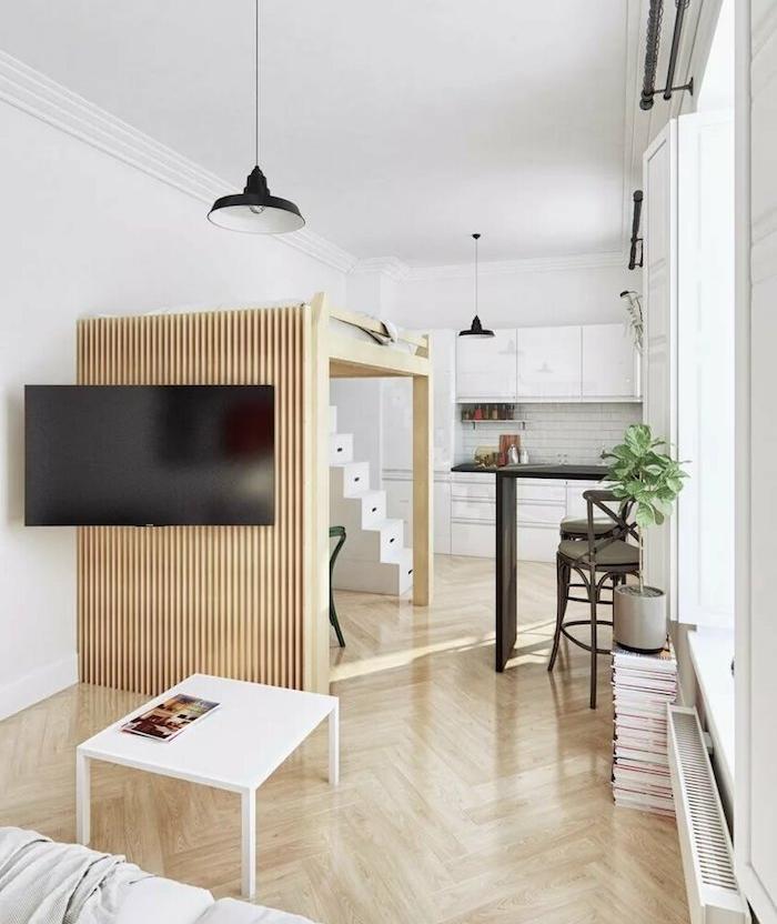 Meubler Un Studio 20m2 Voyez Les Meilleures Idees En 50 Photos