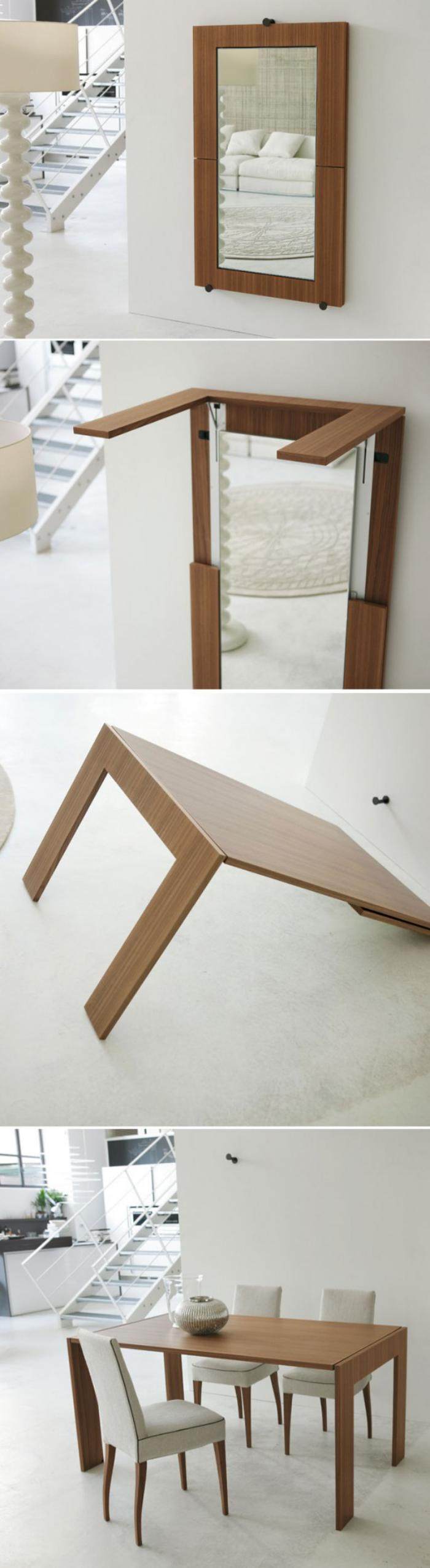 63 Modeles Originaux De Table Gain De Place Archzine Fr