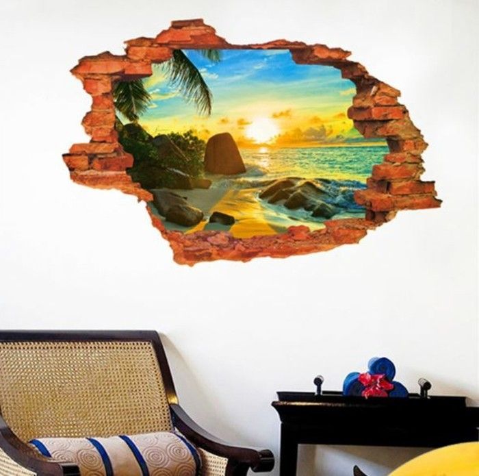 Decoration Murale Geante Idees Conseils Et Combinaisons En Photo Archzine Fr