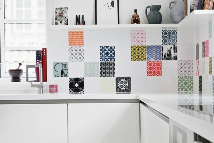 comment adopter le carrelage patchwork