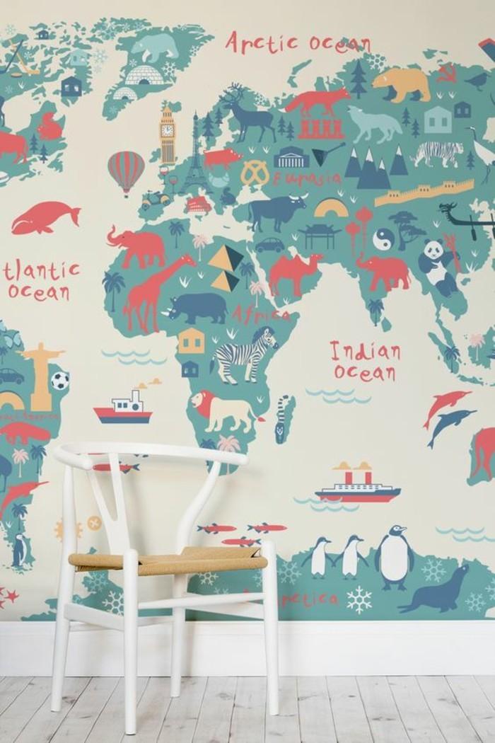le poster carte du monde geante vous