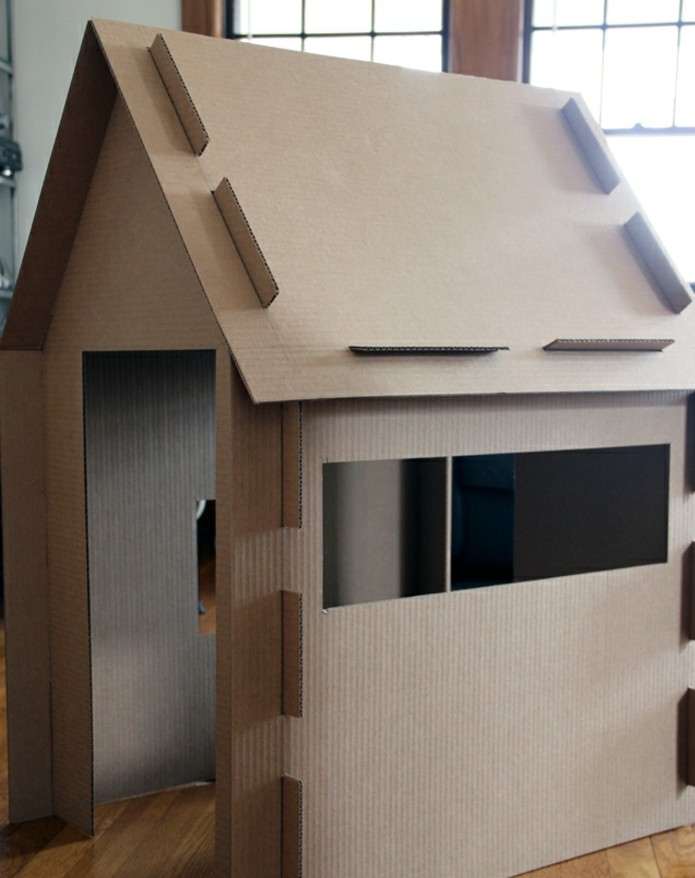 Comment Fabriquer Une Cabane En Carton Tuto Et Plusieurs