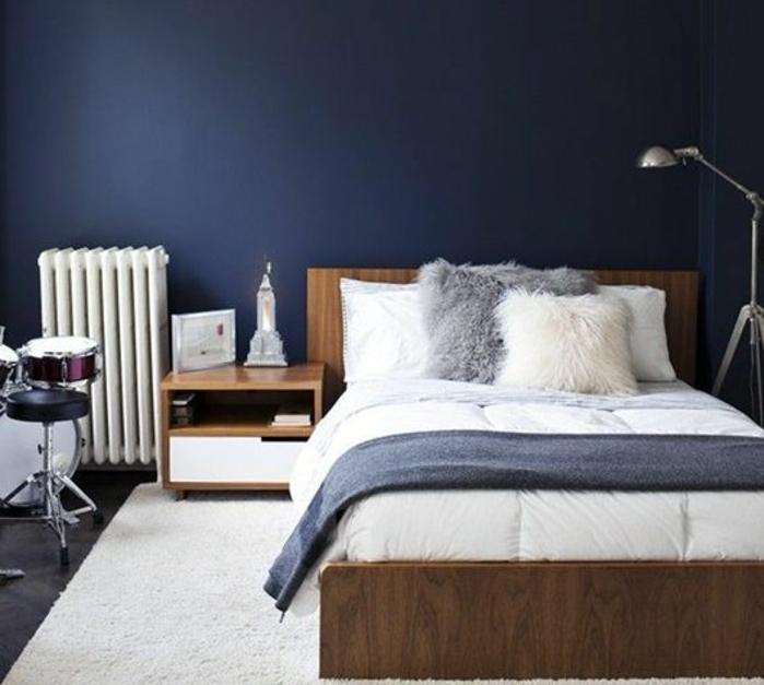 Chambre Mur Bleu Nuit - Travestiblog.top