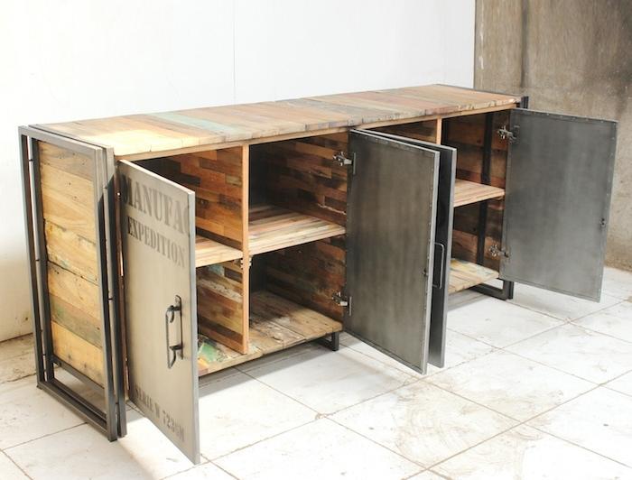 1001 idees meuble industriel