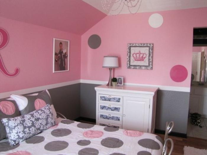 deco gris et rose. Black Bedroom Furniture Sets. Home Design Ideas