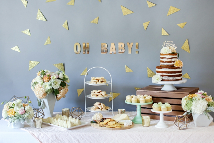 1001ides Cratives Pour Organiser Une Baby Shower