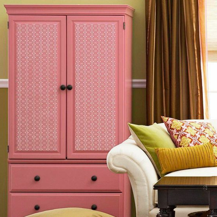 idees pour relooker une armoire ancienne