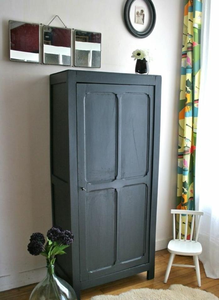 relooker une armoire de chambre