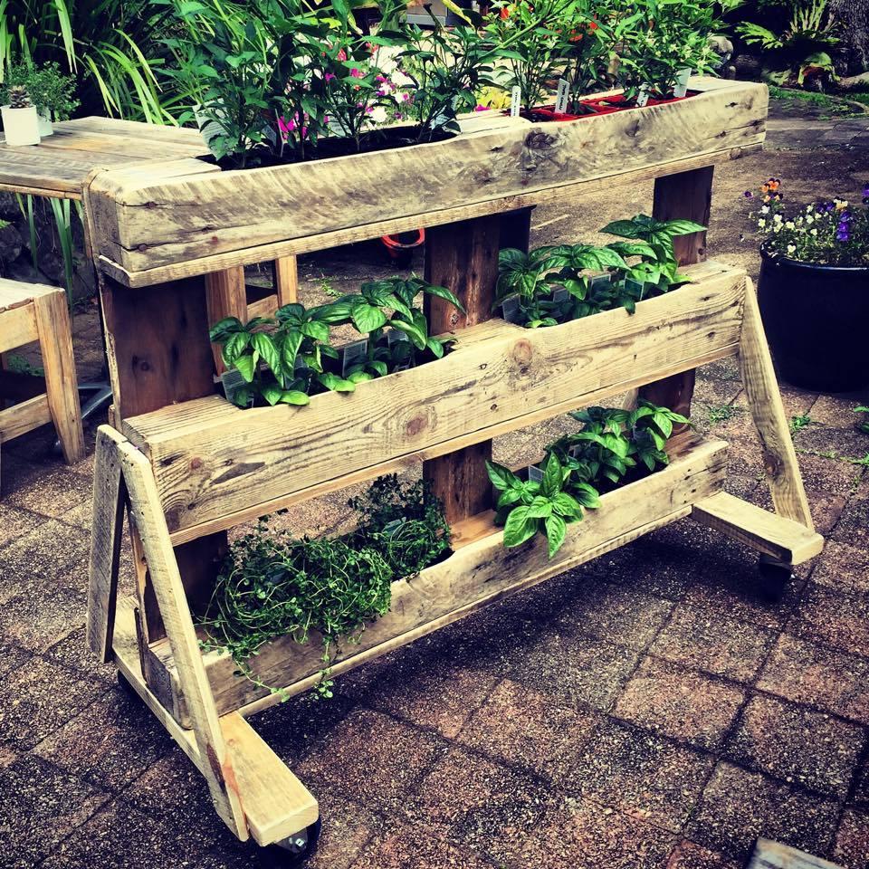 fabriquer une jardiniere en palette