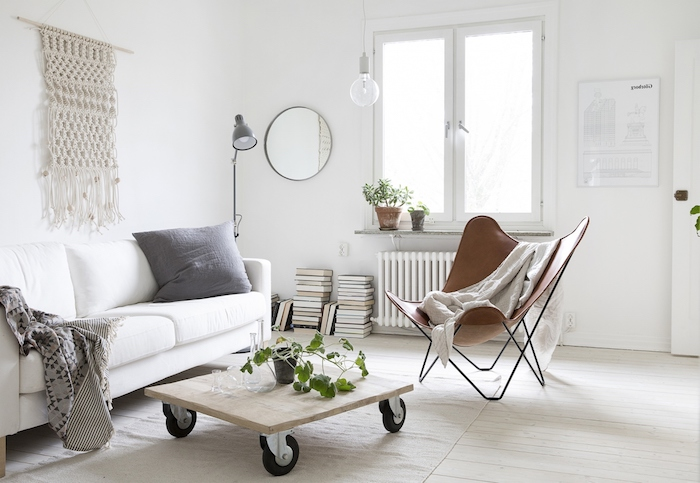 salon scandinave