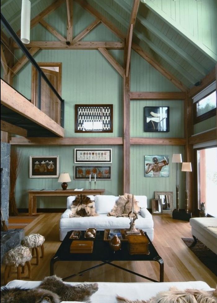 deco salon gris et vert deau unixpaint. Black Bedroom Furniture Sets. Home Design Ideas