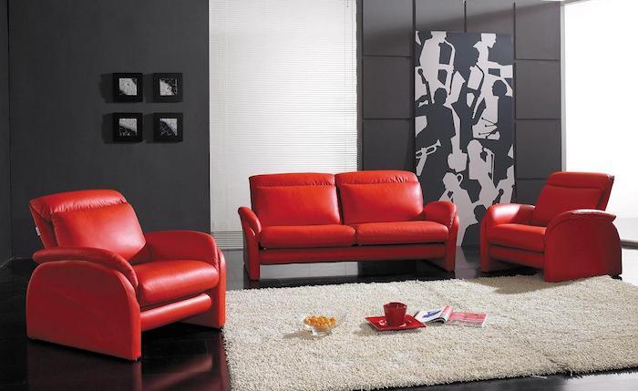 quelle couleur va avec le rouge 80 idees d associations fort reussies pour un interieur qui a du caractere