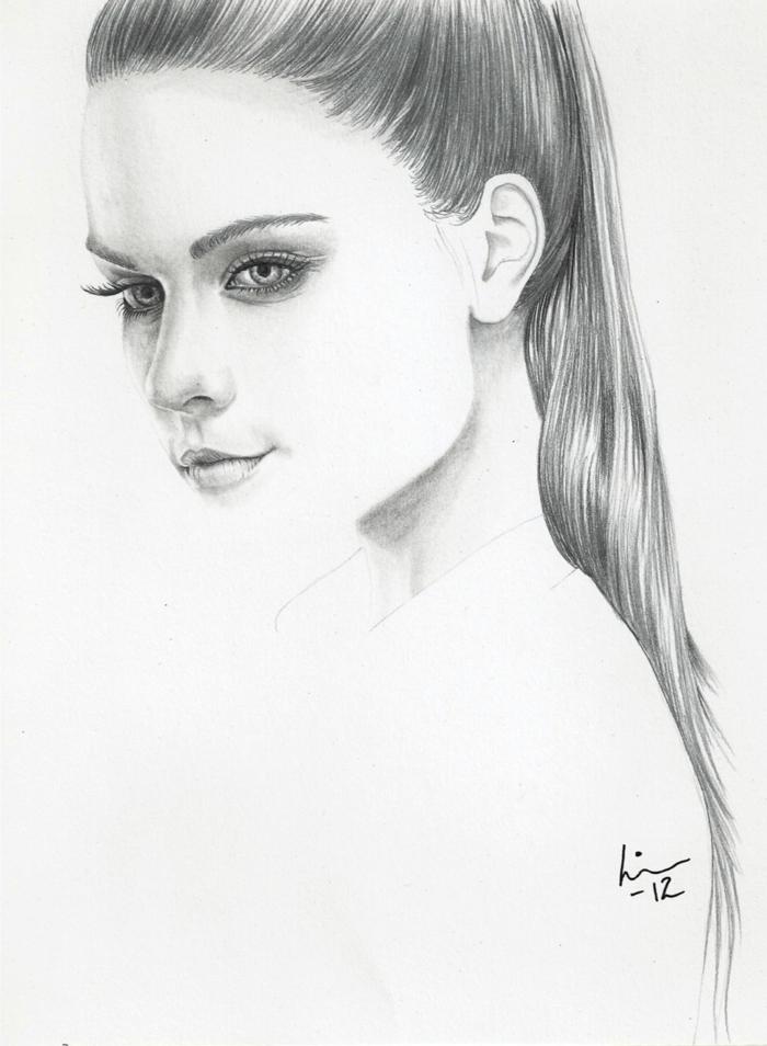 Swag Tumblr Drawings Girl Sketch