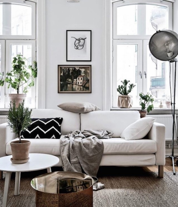 petit salon deco scandinave
