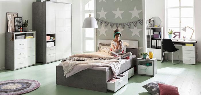 Bureau Chambre Maison Du Monde : Chambre maison du monde ado modele de chambre ado tte de lit en