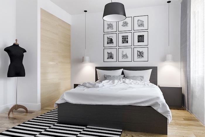 Chambre Gris Et Noir Decoration Chambre Gris Et Noir